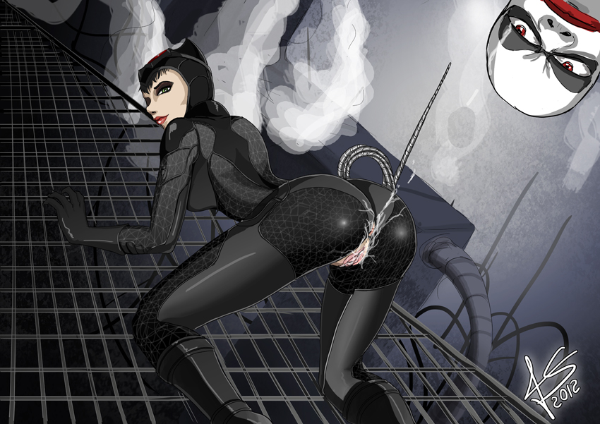 batman city naked arkham catwoman Puzzle and dragons sonia nude