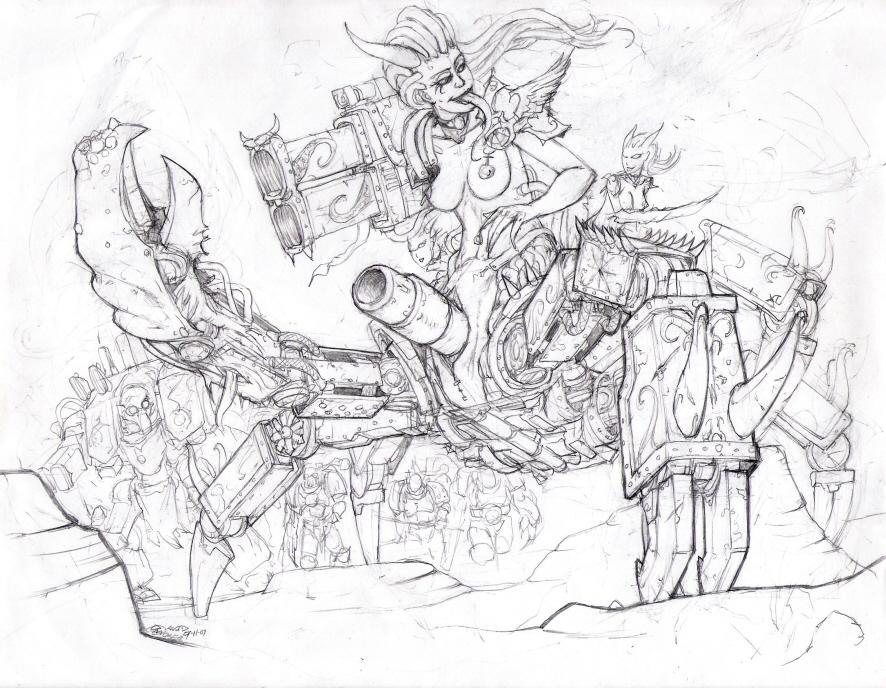 chaos slaanesh god 40k warhammer X-men evolution screencaps
