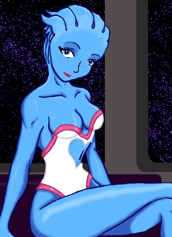 andromeda effect mass liara t'soni Trapped in a bucket comic
