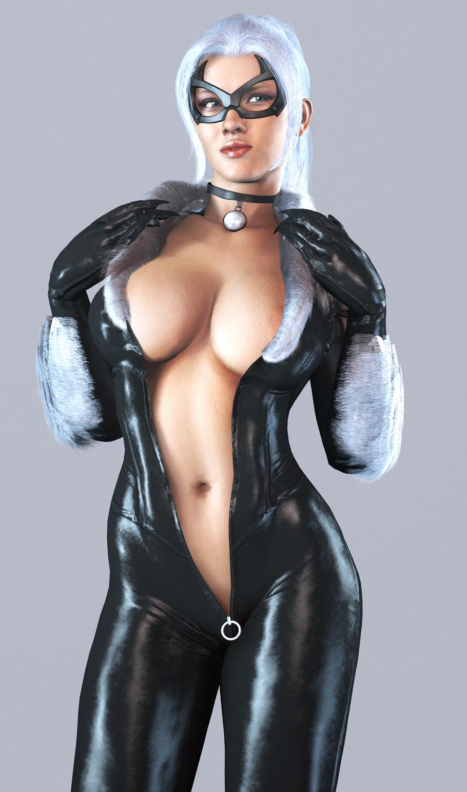 black cat ps4 spider man Moshi mo youmuin no ojisan ga saimin wo oboetara