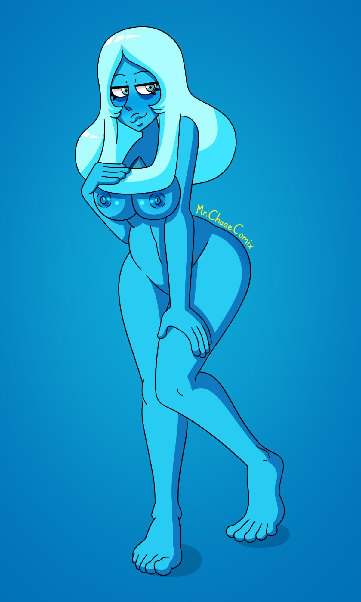 blue hentai diamond steven universe In'en no yu ~sandai no okami-tachi to no mikkou~