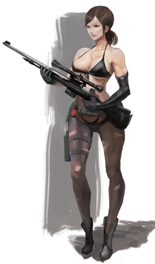 gear wolf hentai metal sniper Female blood elf death knight