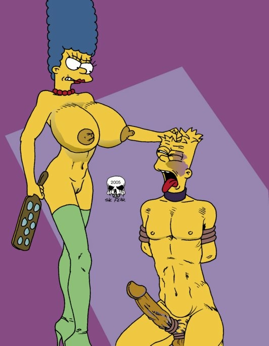 bart simpson naked marge with Least i could do