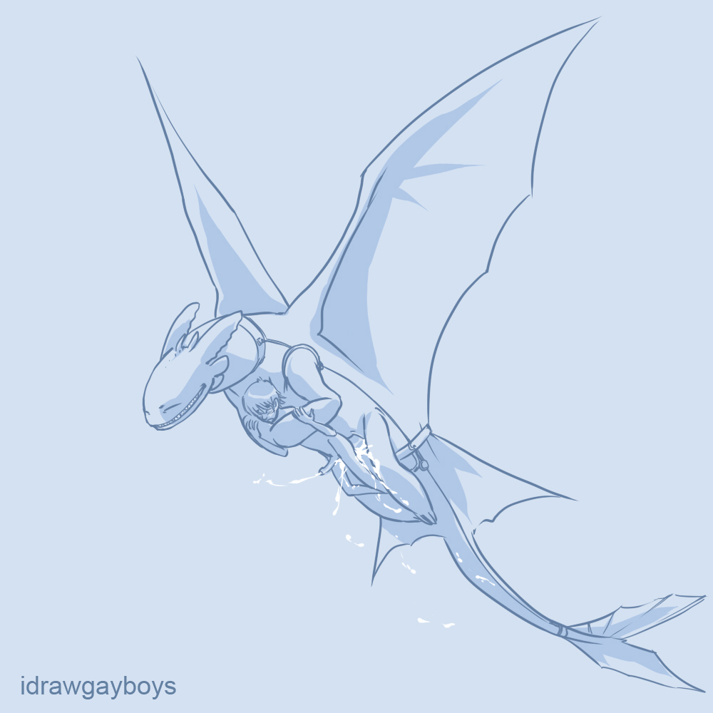 a how hiccup fanfiction to dragon night fury your turns into train Son of the mask otis