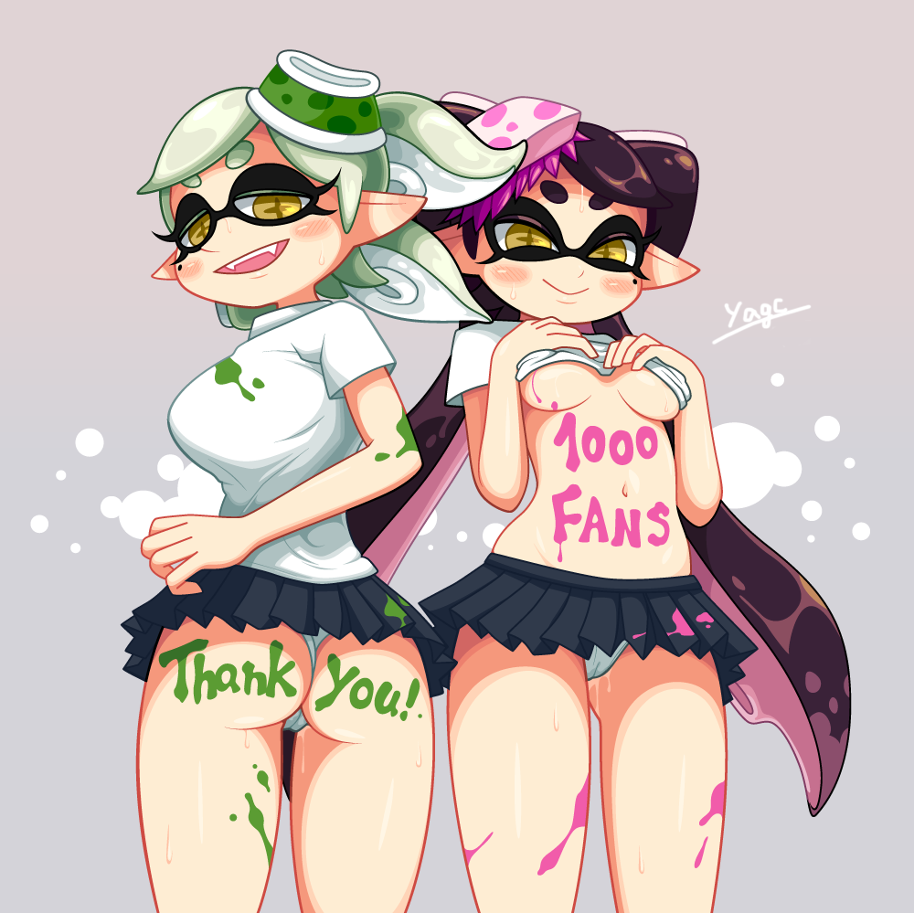 splatoon sisters squid Everybody loves large chests characters