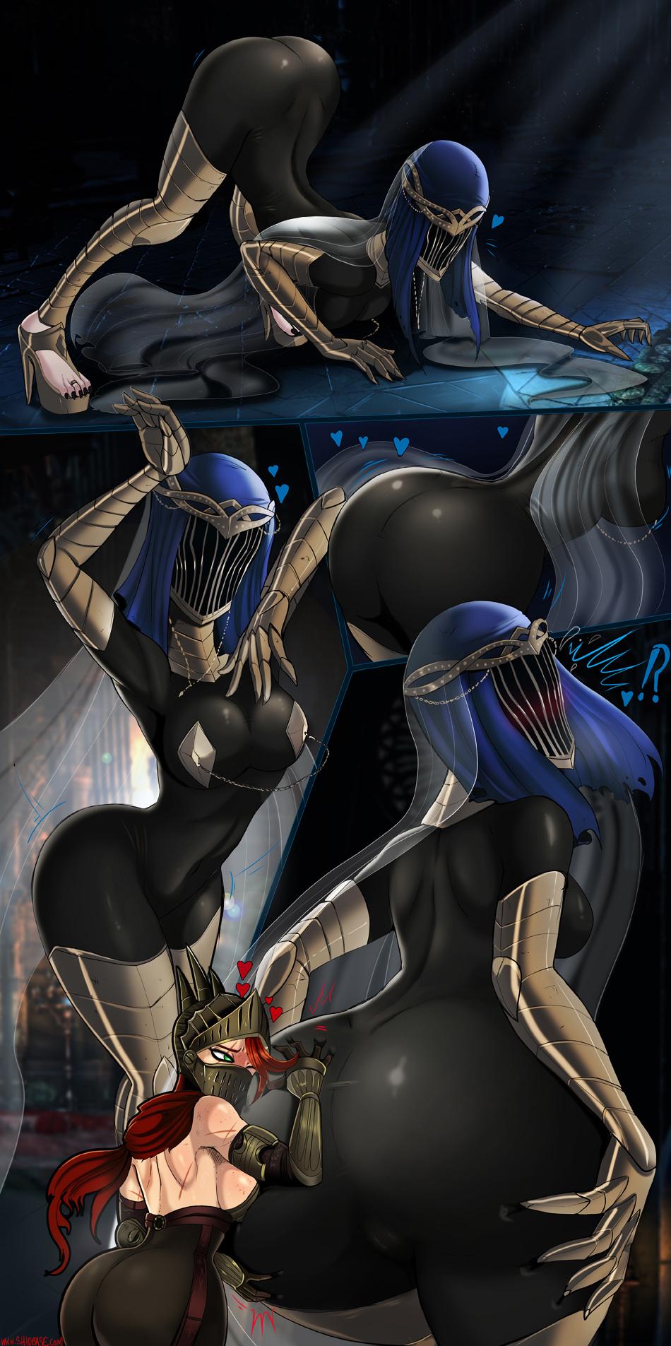 souls dancers dark armor 3 Shadow x maria the hedgehog
