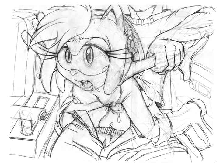 amy as human a rose Foxy from five nights at freddy's