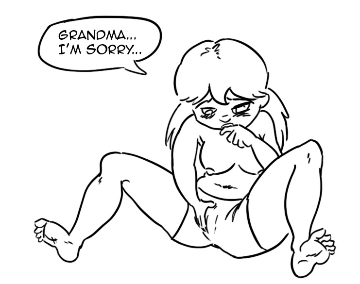 comics dumbing porn age of Futa on male hentai comic