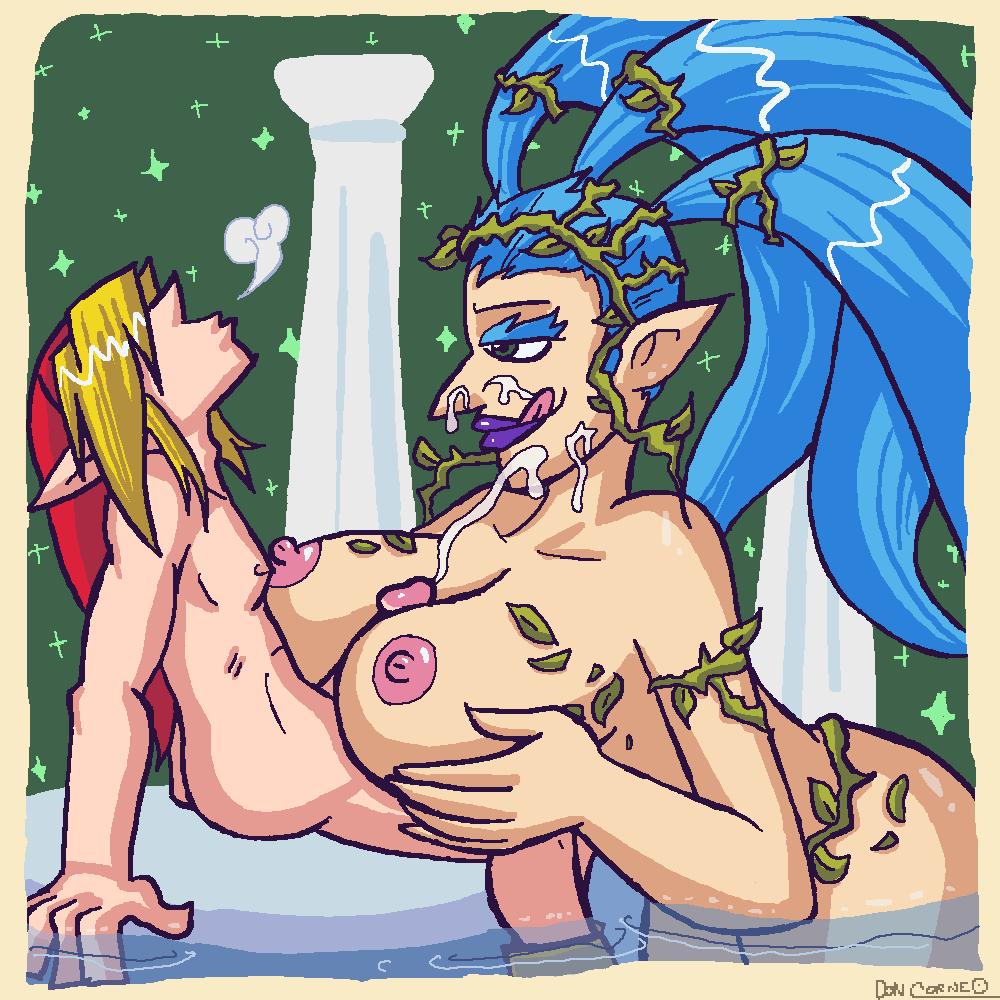 zelda great fairy Gamer girl and hipster girl