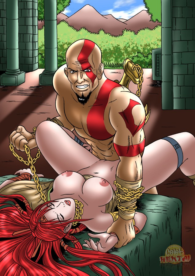 of god of war sisters 2 fate Spike and twilight cum.