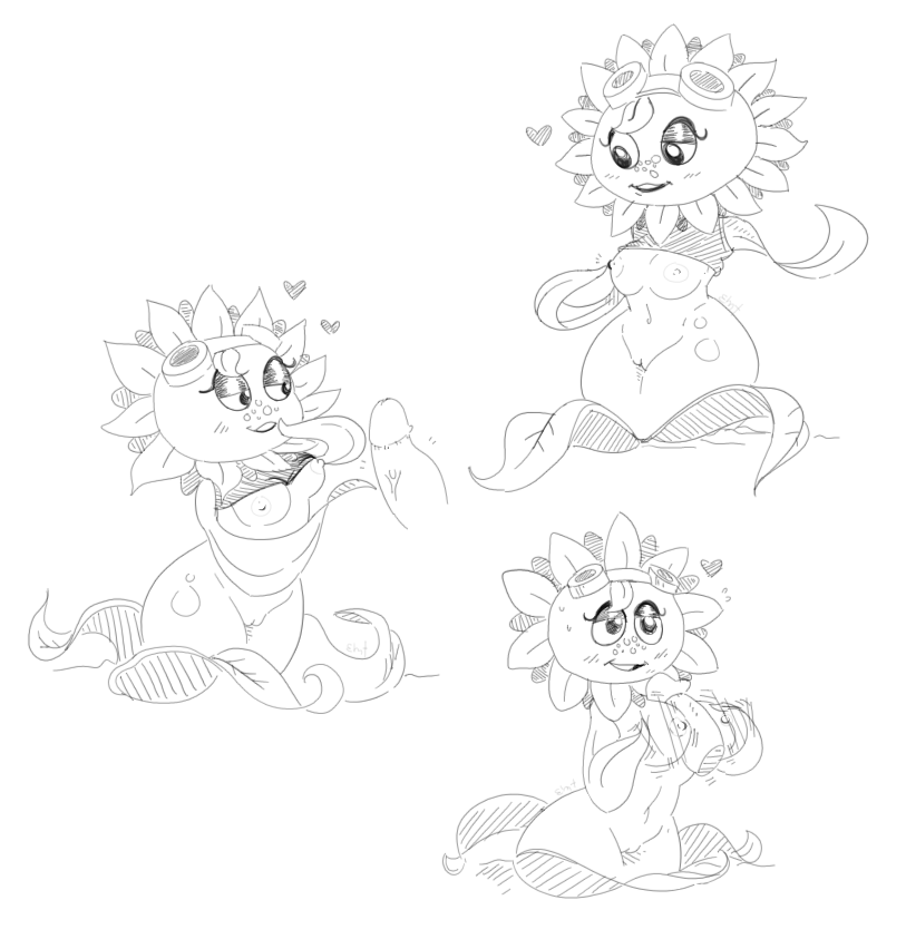 solar flare plants zombies vs My little pony flurry heart grown up