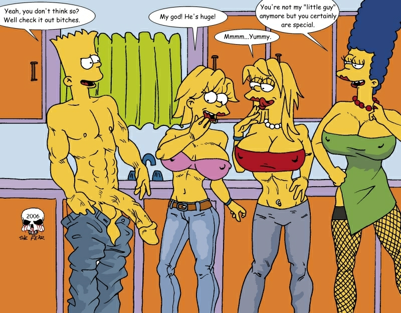 naked simpson marge bart with Amethyst - princess of gem world