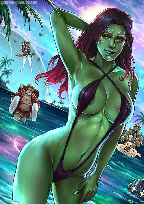 bug girl of galaxy guardians the Harley quinn arkham city nude