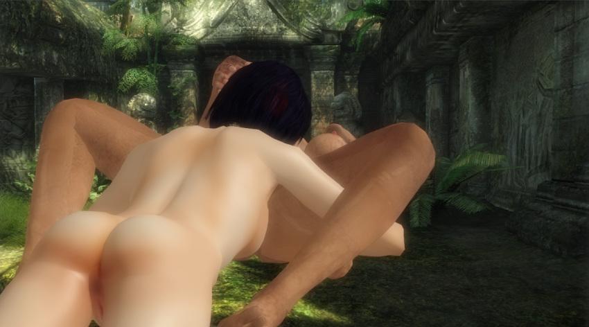 nishimura and lara sam croft How not to summon a demon lord shera gif