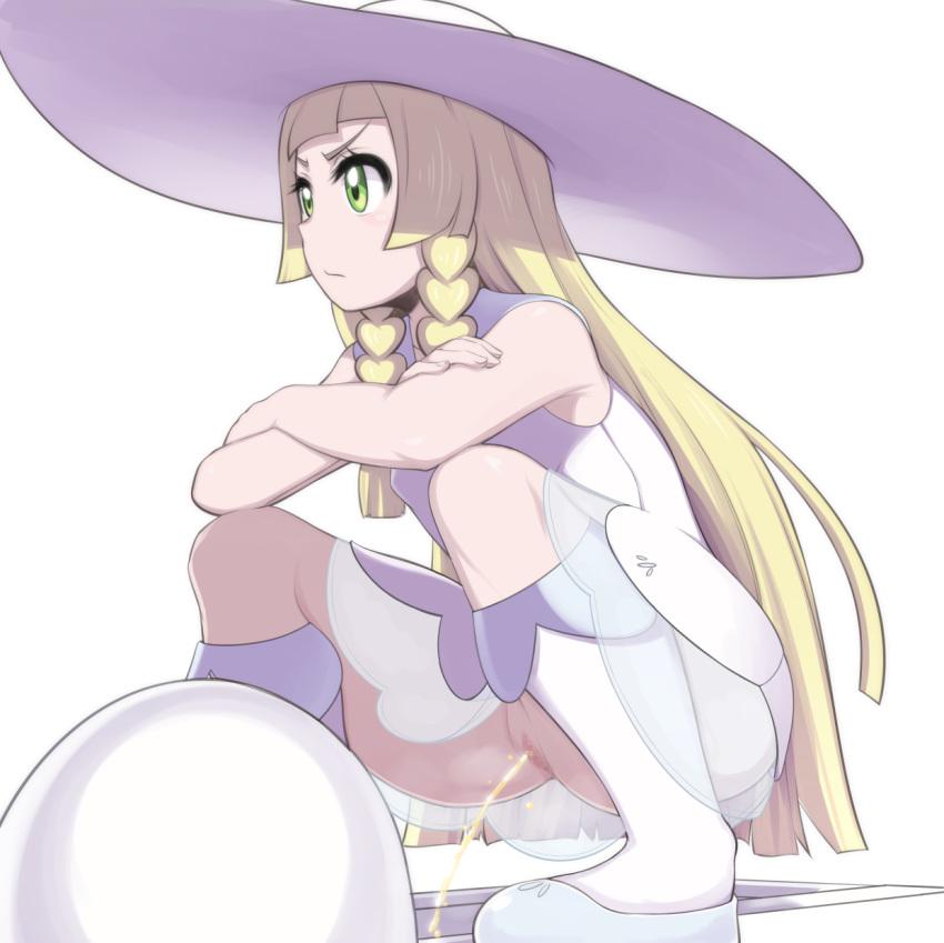 how old is lillie pokemon Highschool dxd blue hair girl