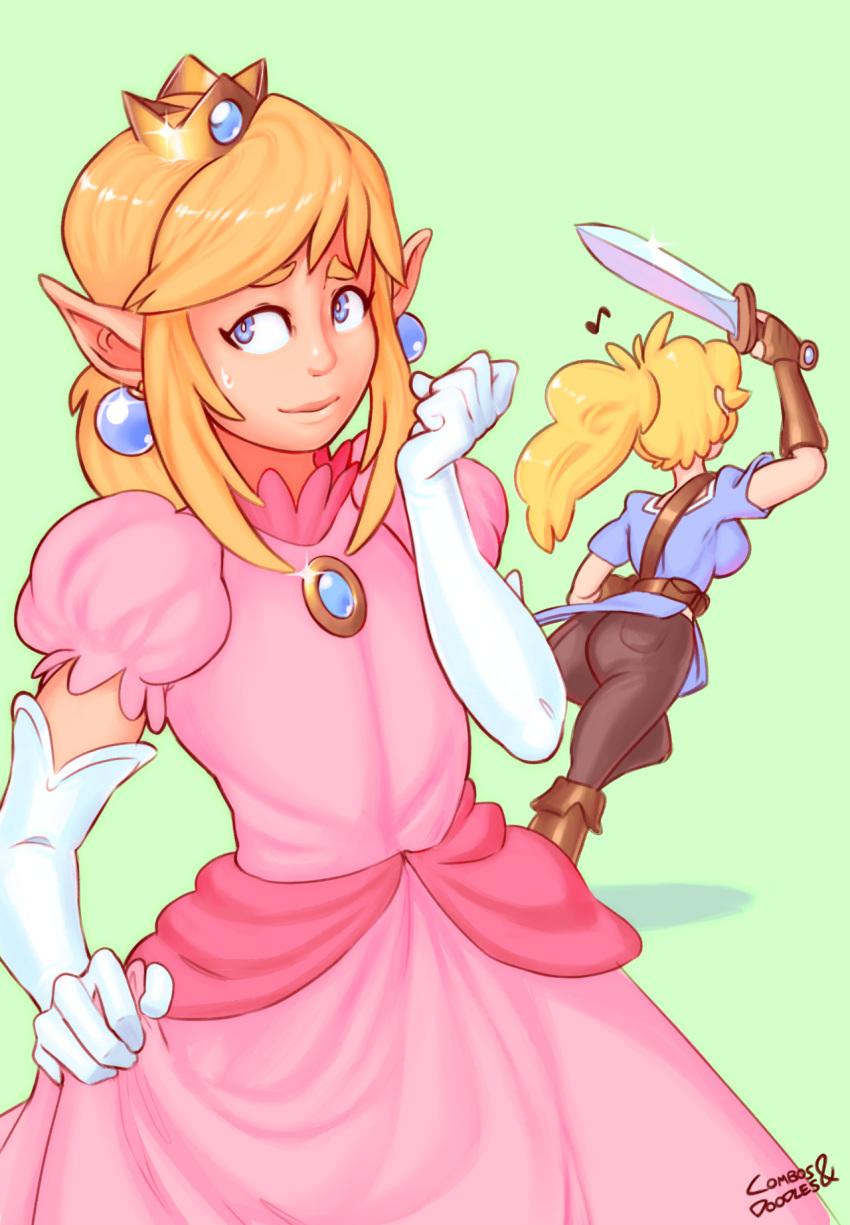 and princess daisy peach sex A fairy tale for the demon lord