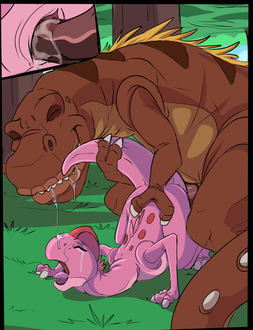 the tria before time land Lord shen kung fu panda