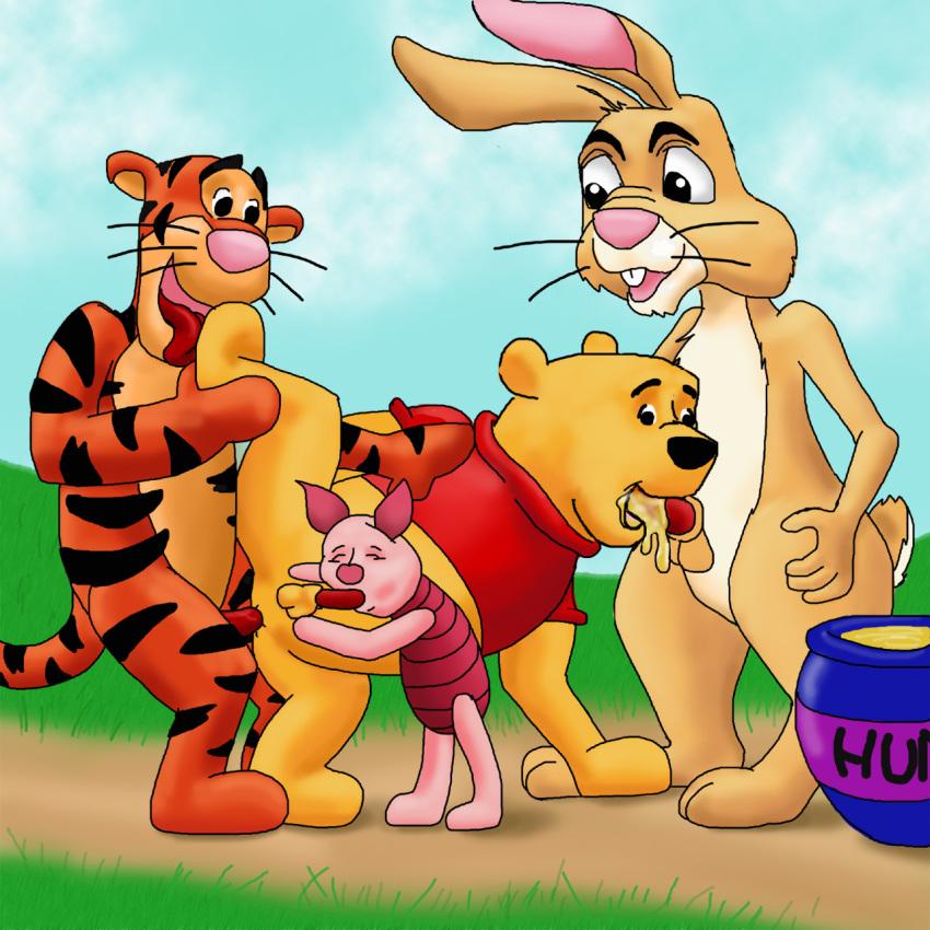 pooh rabbit from winnie the costume Ofuro de pew pew!!