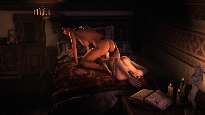 nude mass effect ashley williams Dragon age origins desire demon templar