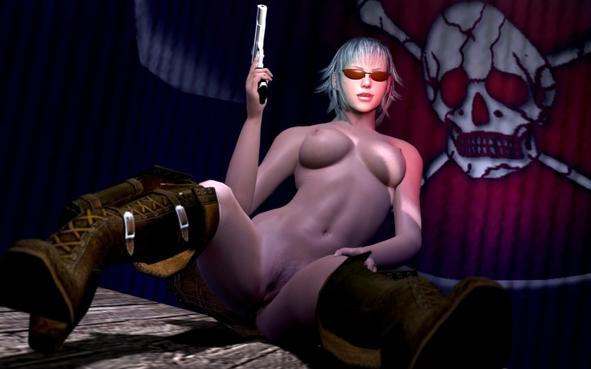 lady 3 devil may cry Fist of the north star crossover