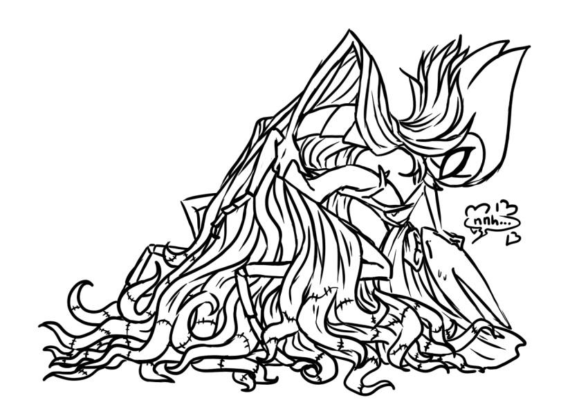 white knight grub hollow lady by Tsuki ga michibiku isekai douchuu 34