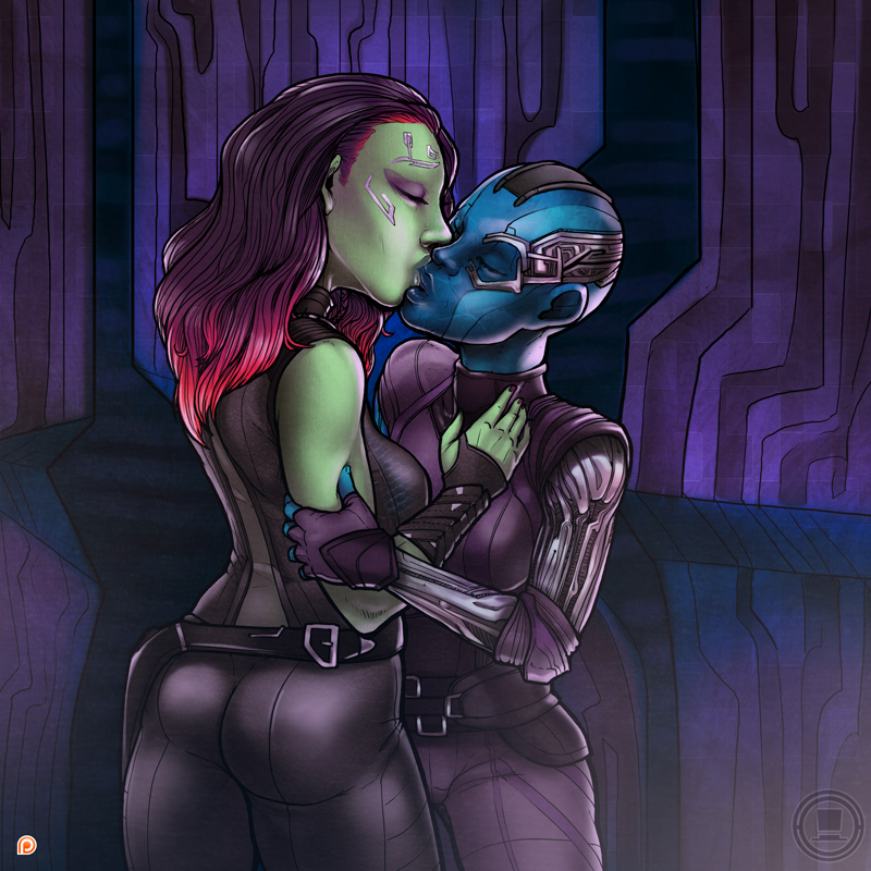 gamora of guardians galaxy hentai the Harley quinn poison ivy nude